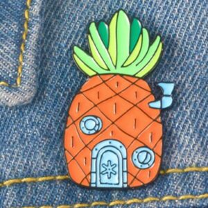 Pineapple Spongebob House Lapel Pin